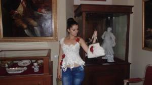 блуза і сумка з войлоку,автор Вікторія Галамага,модель - Василина